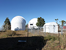 Some of the observatories on top of Mt. Lemmon. Elevation: 9157 ft.