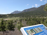 View of the scening setting of the Academy grounds on a gorgeous Colorado day