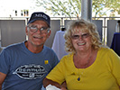 Bill and Darlene Woodward at the Pima Air & Space Museum, 2013 Reunion