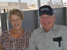 Chuck and Jeanne Schabel at the Pima Air & Space Museum, 2013 Reunion
