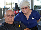 Troy and Barbara Dobbs at the Pima Air & Space Museum, 2013 Reunion