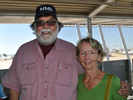 Steve and Pauline Bisel at the Pima Air & Space Museum, 2013 Reunion
