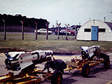 AIM 4 Load Trainers for 1969 Loadeo by the squadron day room