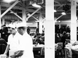 Dining Hall at Lowry AFB, 1967.
