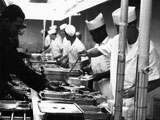 Mess Hall Serving Line at Lowry AFB, 1967.