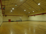 Interior shot of the base gym. Submitted by Gary Stull