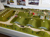 Model of the Special Weapons Storage area created by volunteer Graham Duffy.