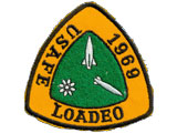 Loadeo patch from the summer of 1969. Submitted by Jim Jenkins