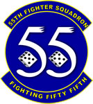55th Tactical Fighter Squadron